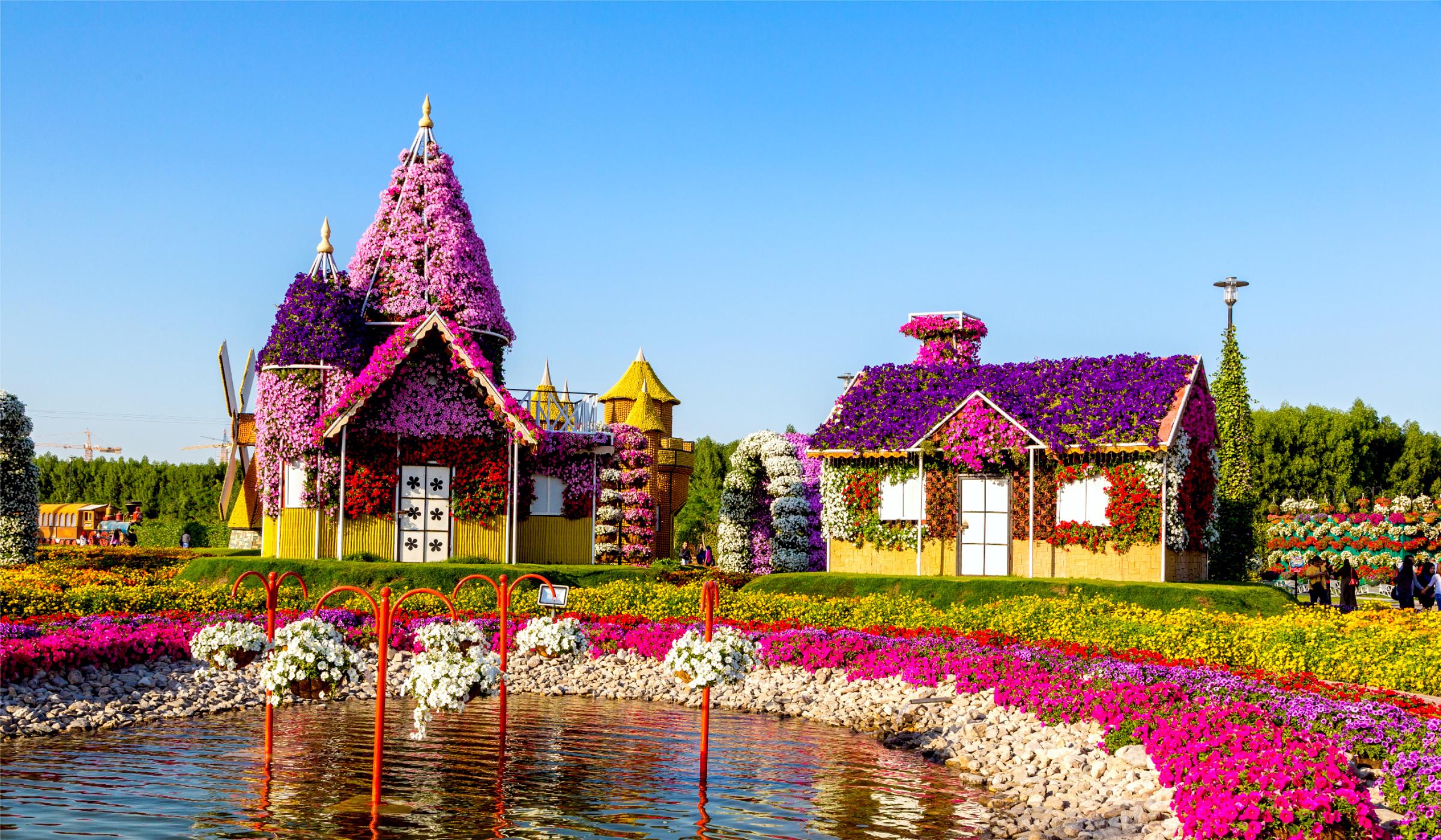 Цветните градини на Дубай