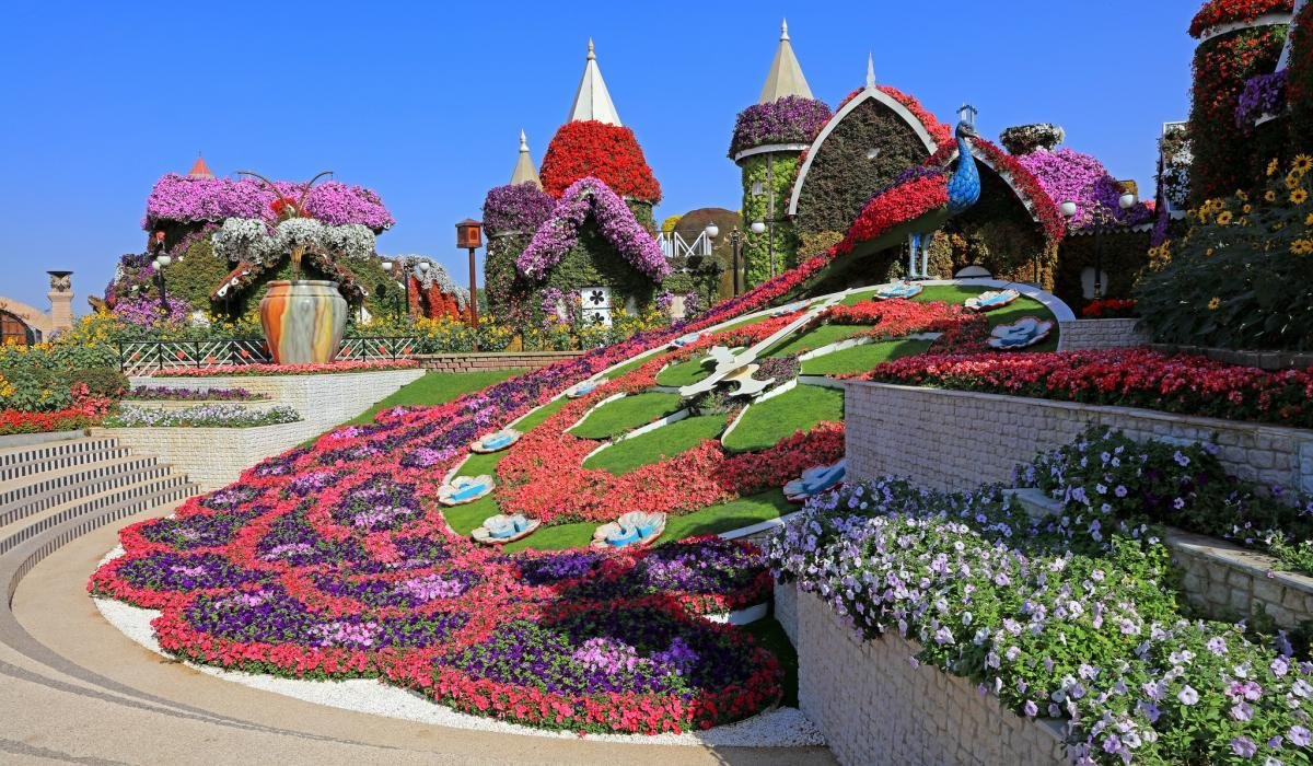Градините на Дубай и Madinat Jumeirah