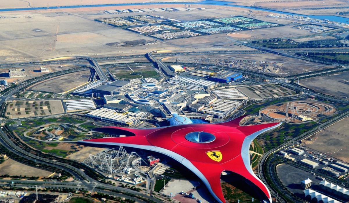 Посещение на  Ferrari World в Абу Даби