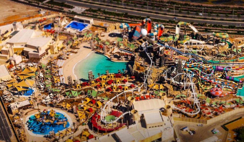 Посещение на  Yas Waterworld в Абу Даби